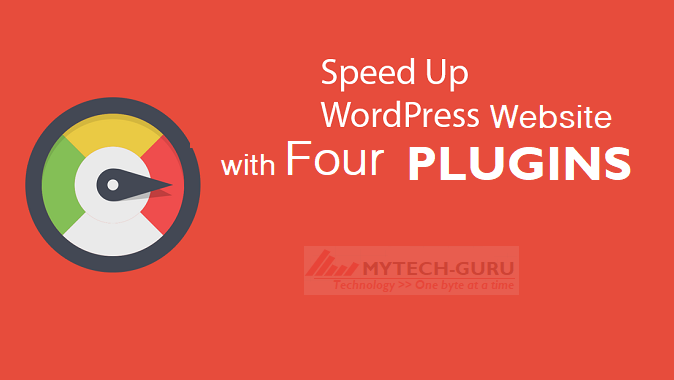 How to increase your WordPress website speed significantly with the help of 4 plugins